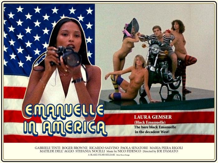 EMANUELLE IN AMERICA - v2 - Silver Ferox Design