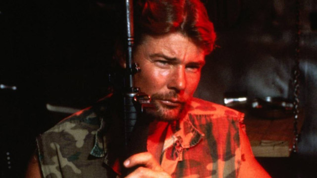 Enemy Territory (1987) Directed by Peter Manoogian Shown: Jan-Michael Vincent