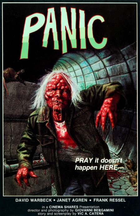 Panic US MPI Gorgon Video VHS Front