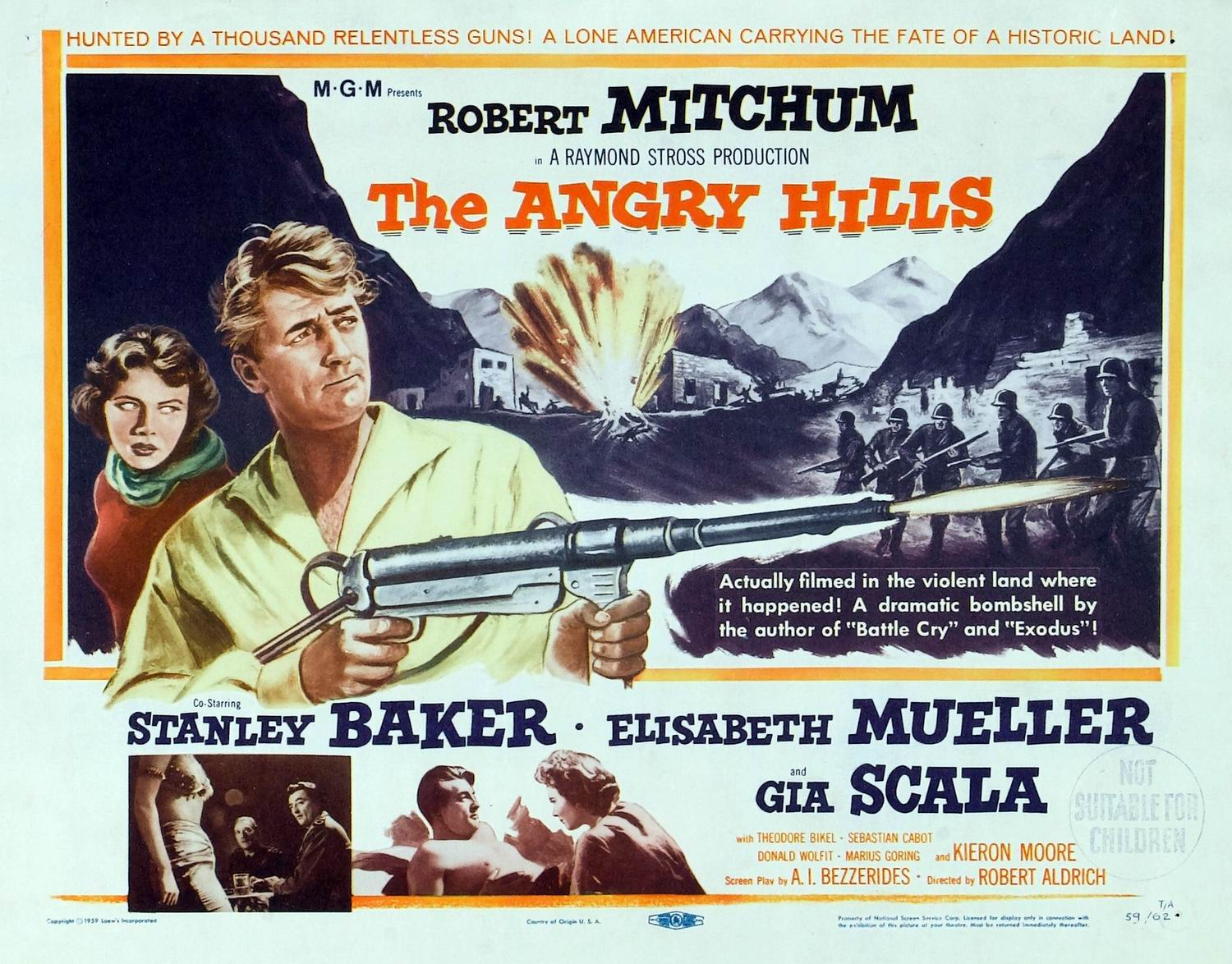 Angry Hills ,The 1959 b